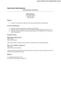 data entry executive resume sle cover letter for customer service clerk