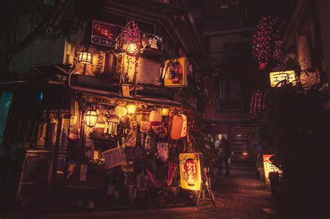 magical night photography  tokyos streets  masashi