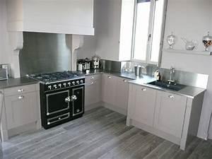 creation complete de cuisine de style ancien avec With installation hotte de cuisine