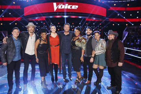 blake shelton team blake shelton the voice 2016 cast season 11 team