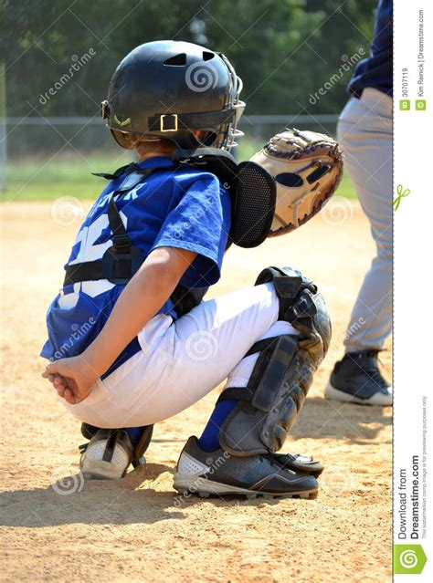 Catcher Position stock image. Image of cleats, plate - 30707119