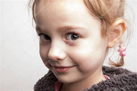 Cute little smile girl — Stock Photo © Djemphoto #192786512