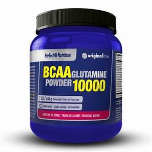 Bcaa   Glutamine Powder - 454g - Perfect Nutrition