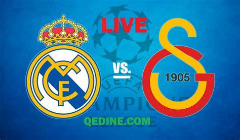 Real Madrid vs. Galatasaray EN VIVO por la Champions ...