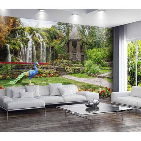 3d Wallpapers For House Walls by Custom 3d Photo Wallpapers For Living Room Tv Background