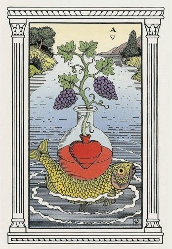 Ace Cups Tarot Card