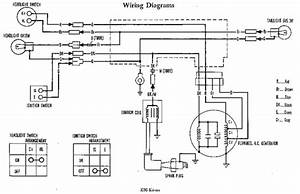 Honda Z50a K4 Wiring Diagram  61718