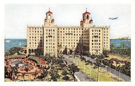 Cuba postcard Havana Habana Hotel Nacional de Cuba. 1950's ...