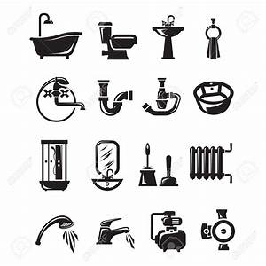 Plumbing Icons Clipart (74+)