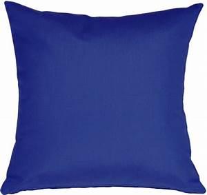 Sunbrella True Blue 20x20 Outdoor Pillow from Pillow Decor