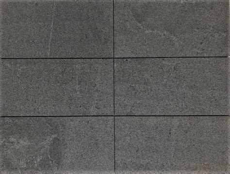 raven grey black enhanced granite pavers  granite tiles