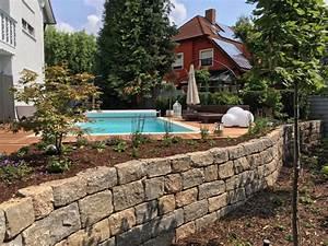 Natursteinmauern Im Garten : natursteinmauern eckardt garten und landschaftsbau ~ Markanthonyermac.com Haus und Dekorationen