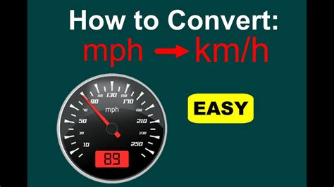 To Mph by How To Convert Mph To Km H Mph To Kph Easy