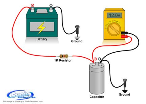 charge  capacitor learning center sonic electronix