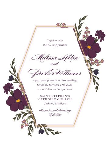 Wedding Invitations Match Your Color & Style Free