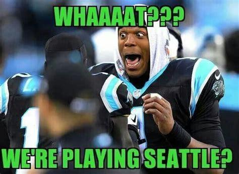 Carolina Panthers Memes - hawks vs panthers seahawks pinterest panthers and hawks