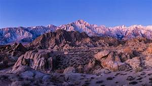 Alabama, Hills, With, Sierra, Nevada, In, The, Wallpaper, Winter