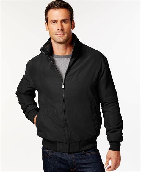 Weatherproof Bomber Jacket in Black for Men | Lyst