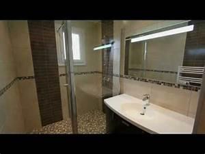 Tendance Carrelage Salle De Bain 2017 : salle de bain tendance pierre youtube ~ Farleysfitness.com Idées de Décoration