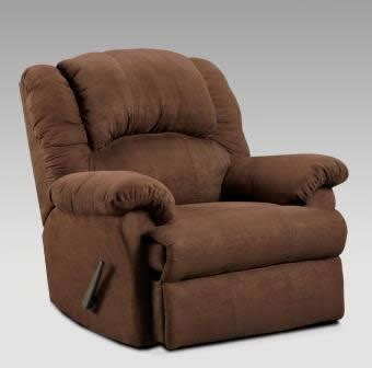 aruc rockingrecliner aruba chocolate recliners