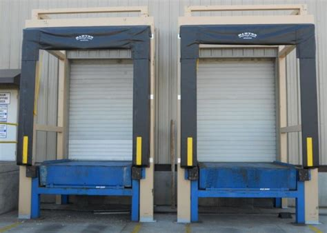 dock seals  shelters barton overhead door