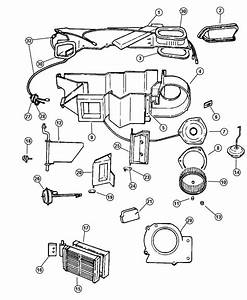 2001 Jeep Grand Cherokee Heater Diagram