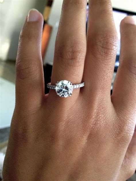 25 best ideas about solitaire engagement on pinterest