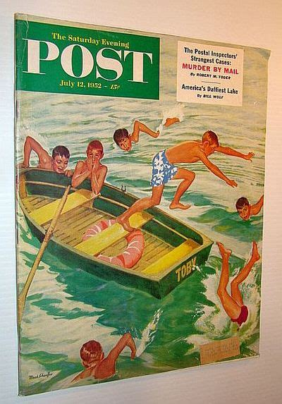The Saturday Evening Post, July 12, 1952 - Murder By Mail ...