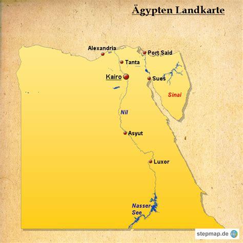aegypten landkarte von landkarten landkarte fuer aegypten