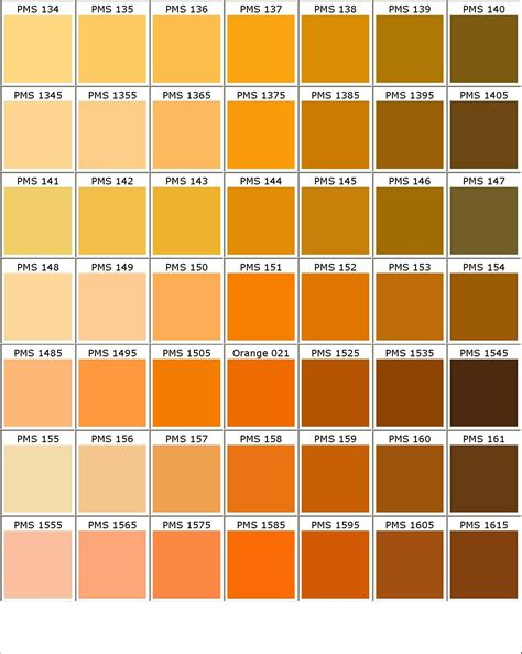what is pantone color color chart colours colour chart