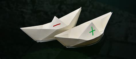 Origami Heart Boat by Canal Iut Sites D Actualit 233 S Iut2 Grenoble Alpes