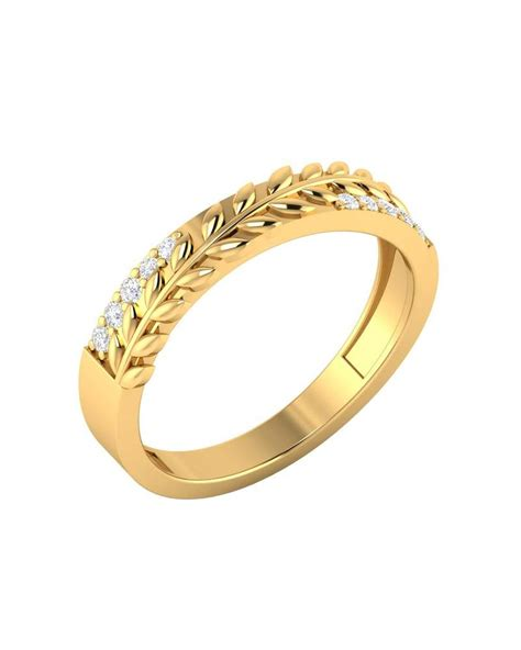 buy gold plain rings online