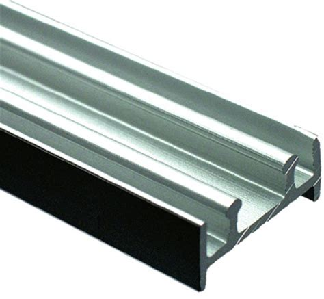 sliding glass door replacement track richelieu tra110078 track for 1 4 in glass sliding