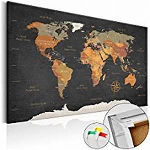 Mappemonde En Liege : carte du monde en liege ~ Teatrodelosmanantiales.com Idées de Décoration
