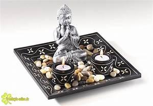 Dekoschale Mit Kerzen : dekoschale und kerzenhalter mit buddha wundervolle ~ Sanjose-hotels-ca.com Haus und Dekorationen