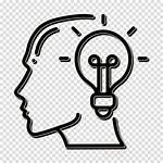 Mind Icon Brain Human Clipart Idea Clip
