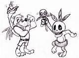 Banjo Kazooie Pages Deviantart Drawing Coloring Drawings Sketch Shojojim Much Help Fc04 Probably Posted Template sketch template