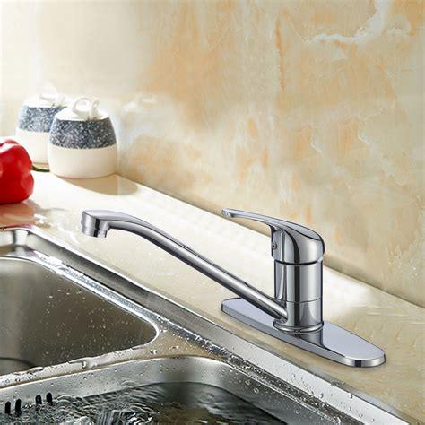 robinet cuisine solde robinet de cuisine en laiton fini chrome 82h23 chr s