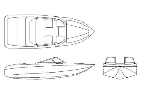 How To Draw A Tiny Boat by Bloques Cad Autocad Arquitectura Download 2d 3d Dwg