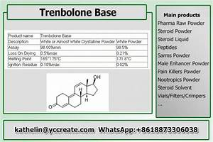 Steroid Hormone Powder Trenbolone Base    Tren Base Steroid Raw Powder For Bodybuilding