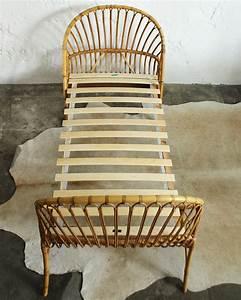 Lit Enfant Vintage : lit vintage rotin daybed enfant atelier du petit parc ~ Teatrodelosmanantiales.com Idées de Décoration