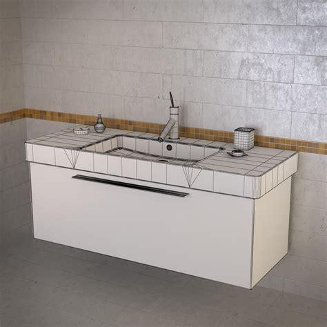 Duravit Vero Sink 3 by Duravit Vero Sink 3d Models Cgtrader