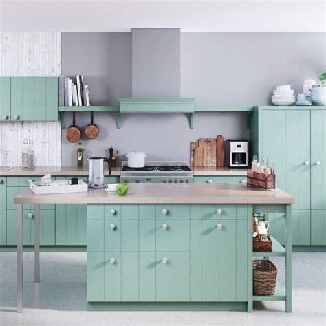 cuisine vert d eau cuisine vert d eau ide de faade cuisine vert mint avec un