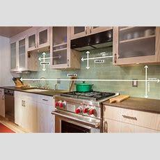 How To Measure Your Kitchen Backsplash