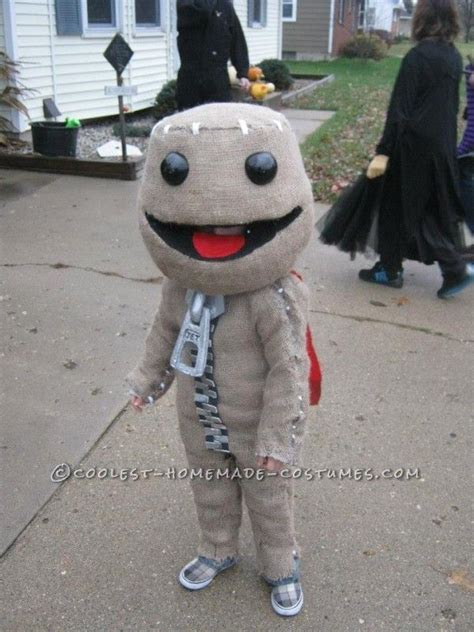 Awesome Little Bigets Sackboy Halloweenstume
