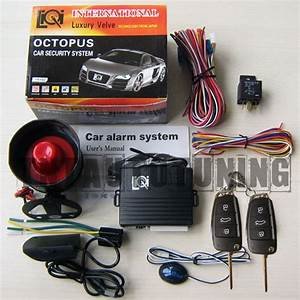 Car Alarm Security System   Remote Central Locking Kit For