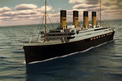 titanic replica  set sail    follow original