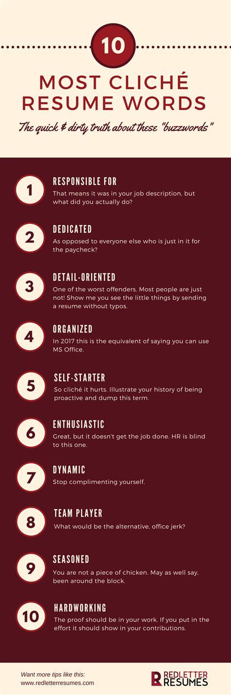 10 most clich 233 resume phrases