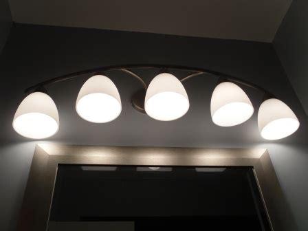 where to use par 20 led lightbulbs in the bathroom