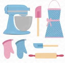 Kitchen Baking Utensils Clip Art